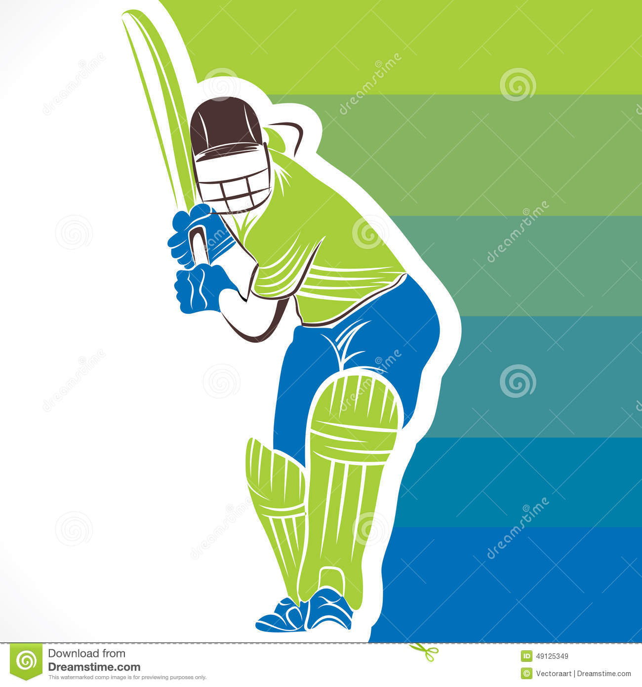 Free House Plan Designer Cricket Player Banner Design Stock Vector Image 49125349