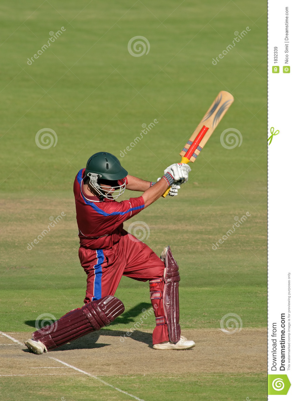 Cricket player (batsman) stock image. Image of leisure ...