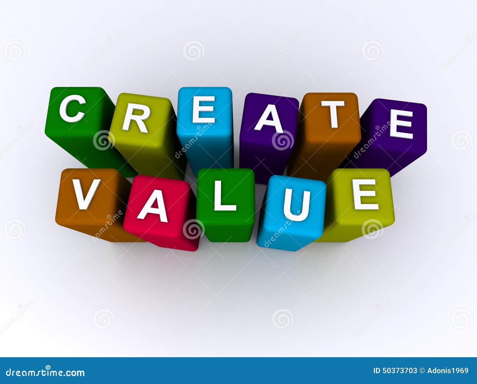 Crie o valor soletrado nos blocos