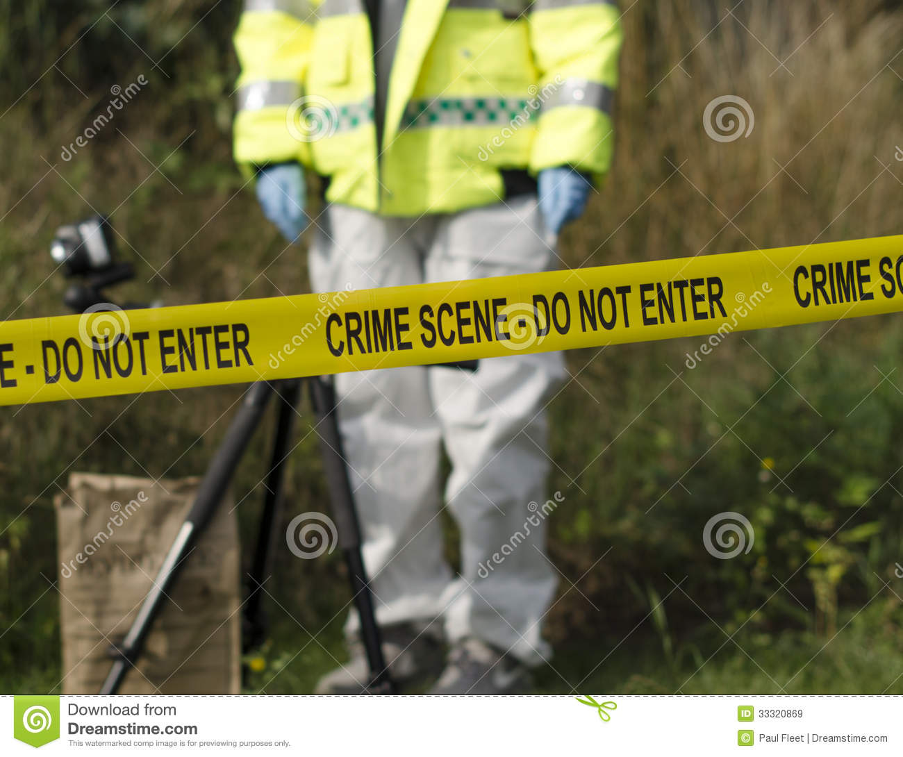 crime scene detective royalty free stock images image
