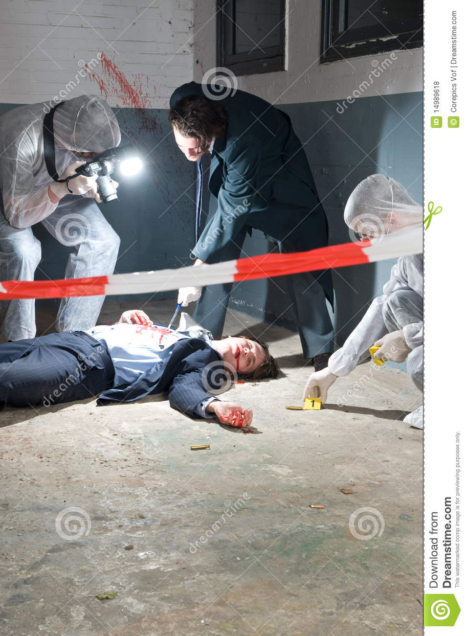 Police Investigating Death Of 16 Year Old West Jordan Boy: Crime Scene Investigation Stock Photo. Image Of