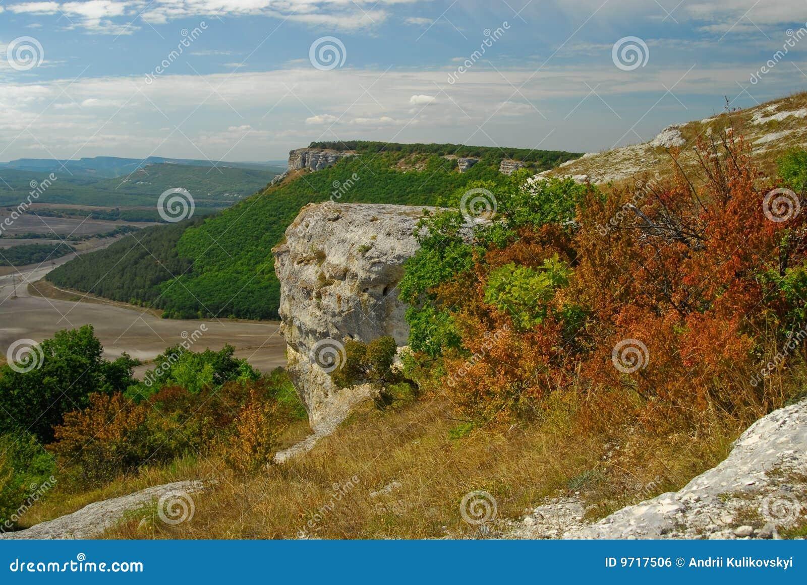 Crimea dzhargan natury taz