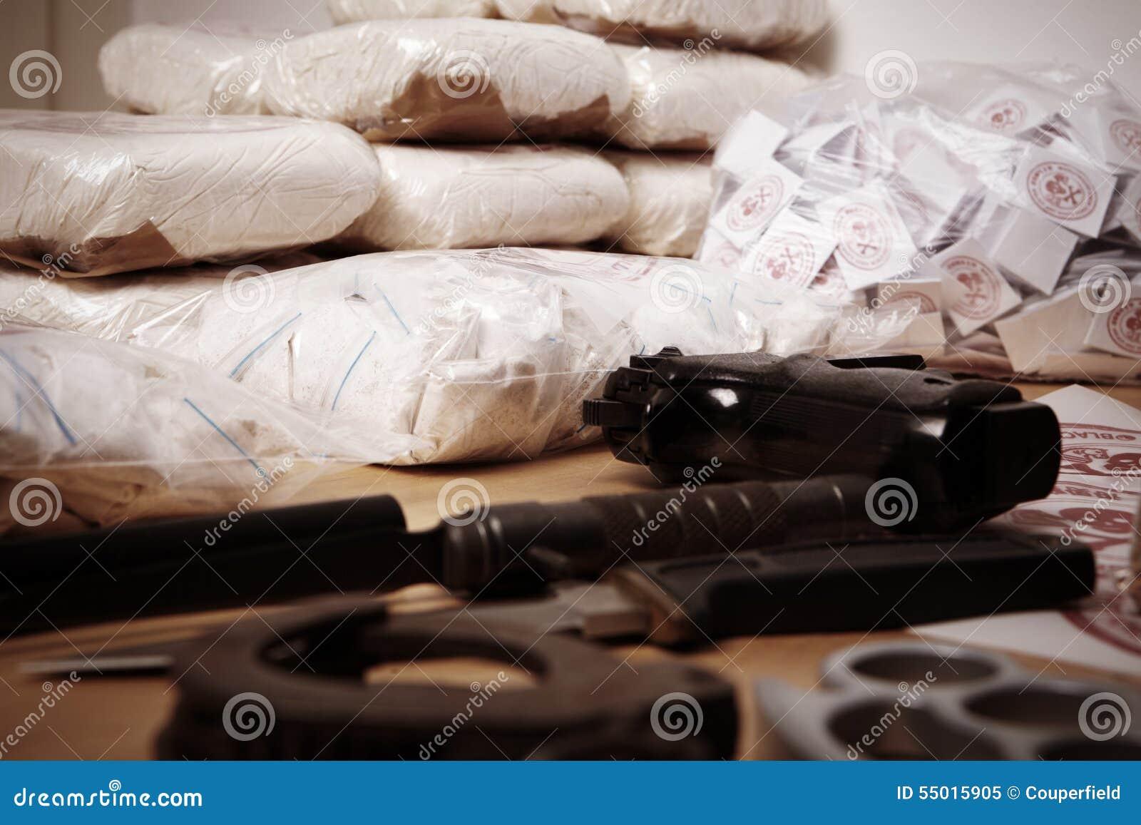 Criminalité de drogue