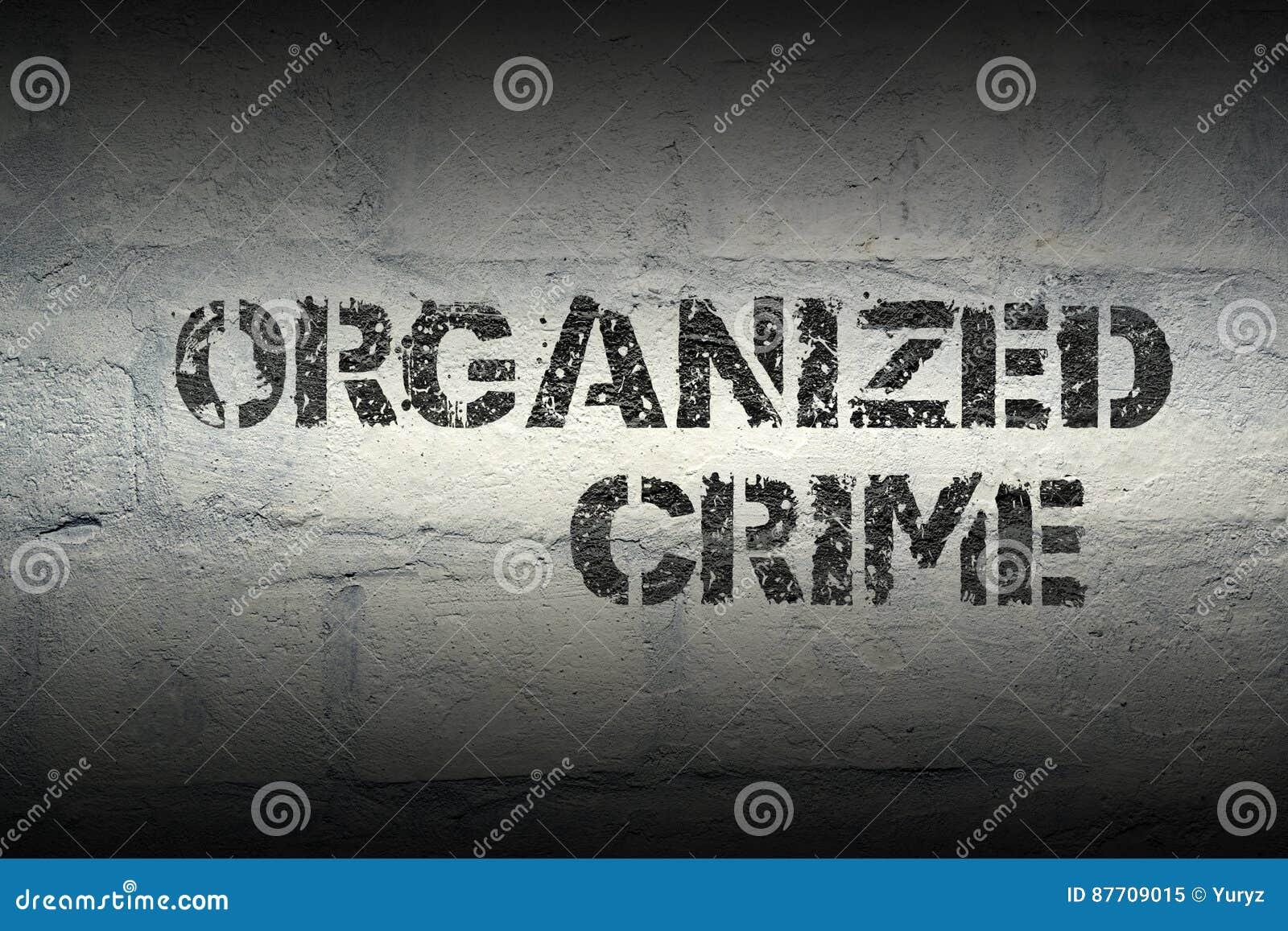 Criminalité organisée GR