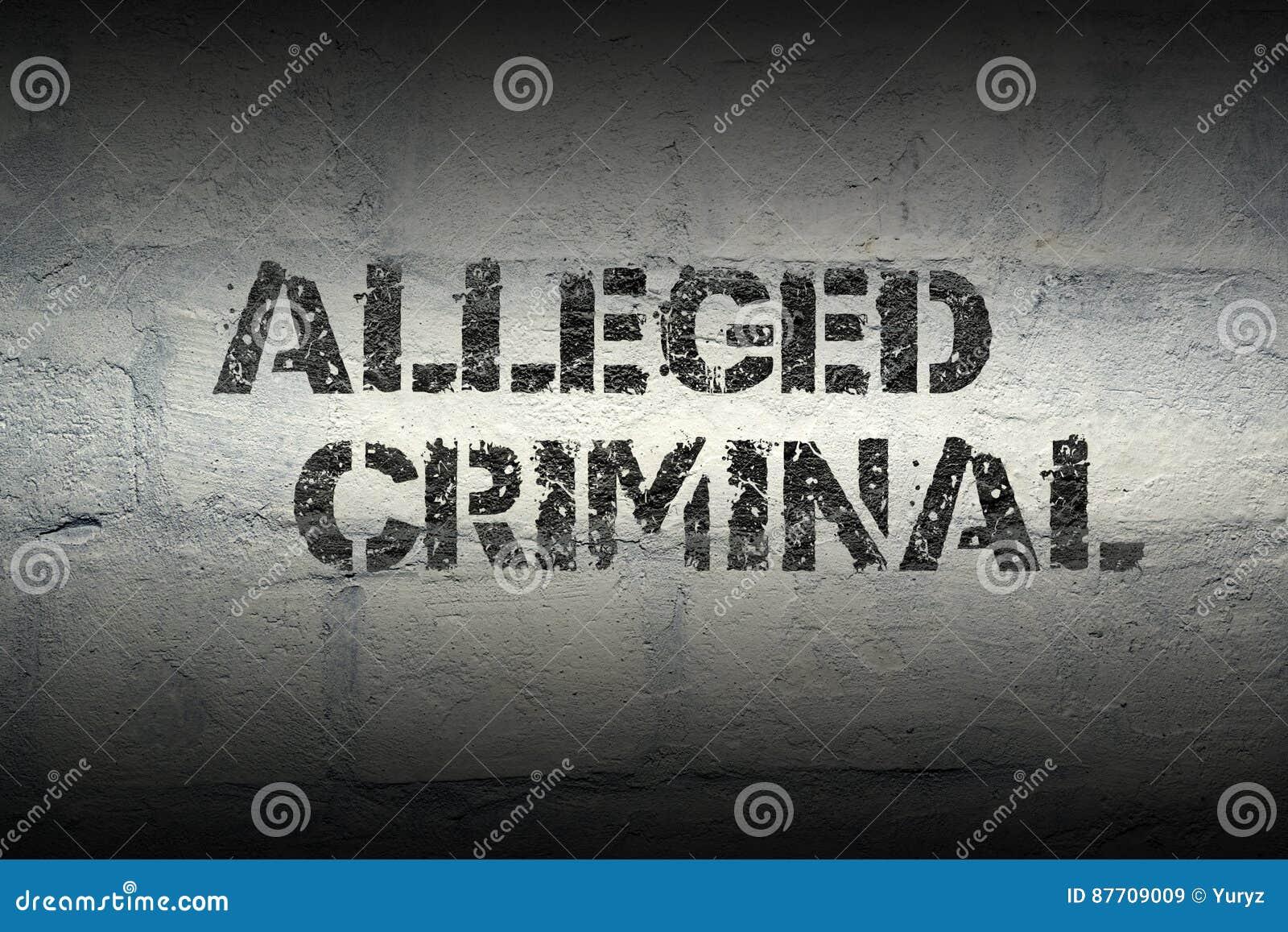 Criminel allégué GR