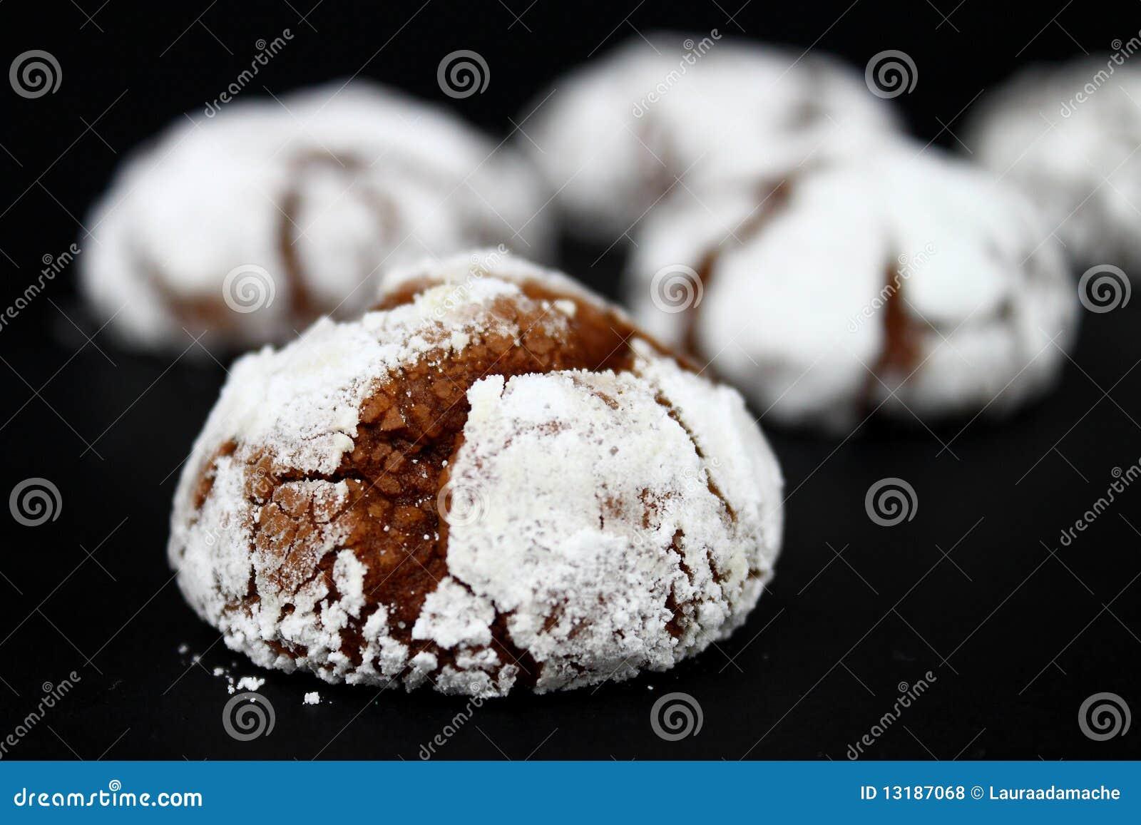 Crinkles σοκολάτας