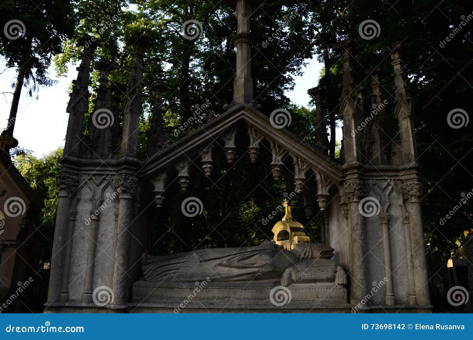 Cripta en el museo del cementerio