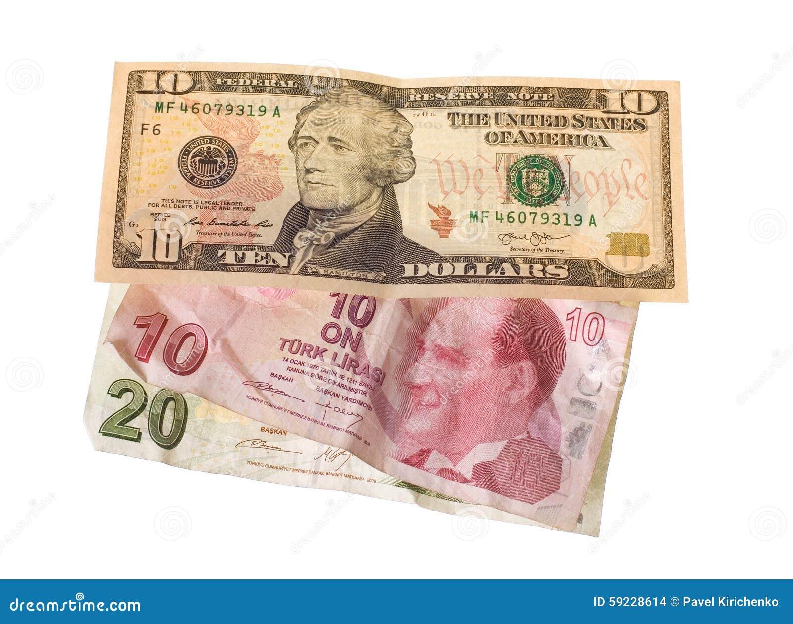 Download Crisis Financiera: Nuevos Dólares Sobre Liras Turcas Arrugadas Foto de archivo - Imagen de currency, financiero: 59228614