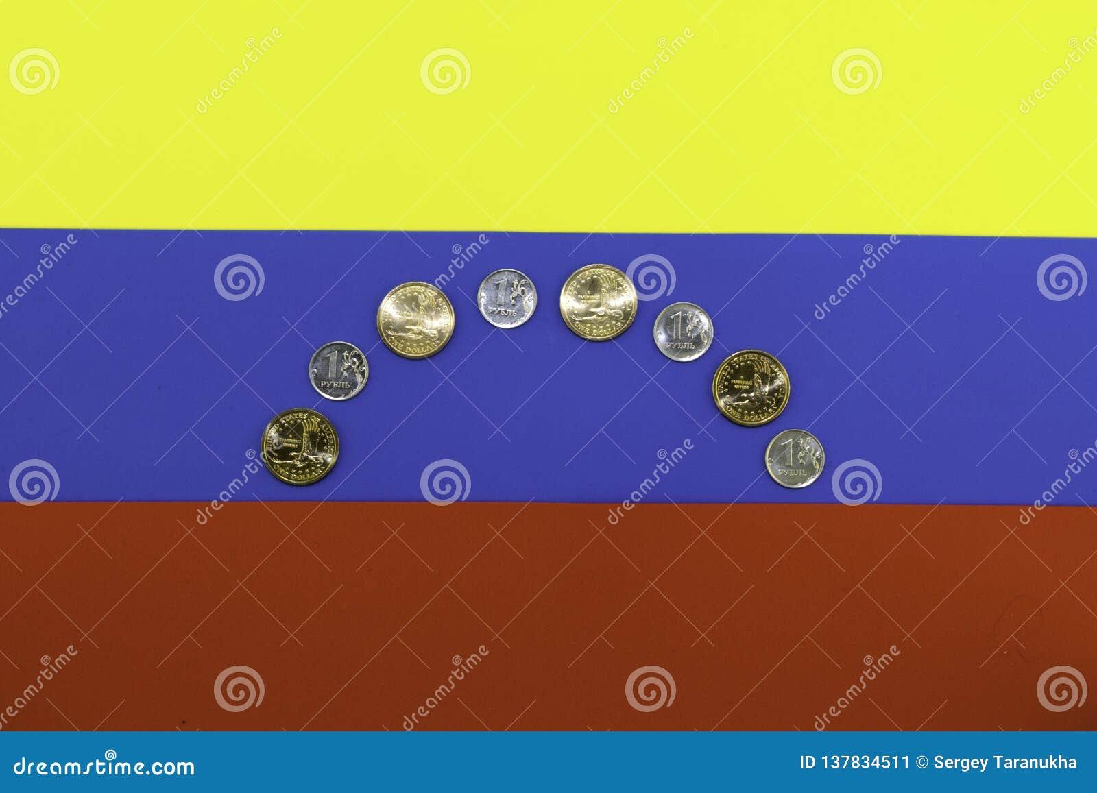 Crisis in venezuela stylized flag of venezuela