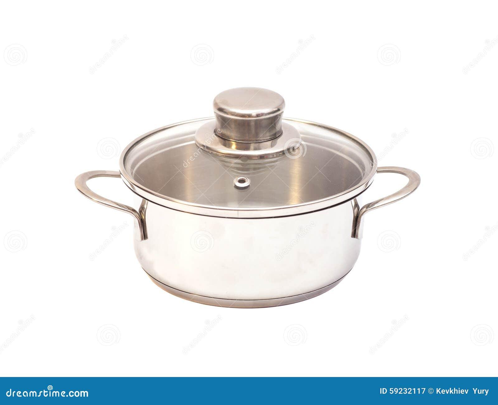 Download Crisol Del Acero Inoxidable Imagen de archivo - Imagen de cooking, casa: 59232117