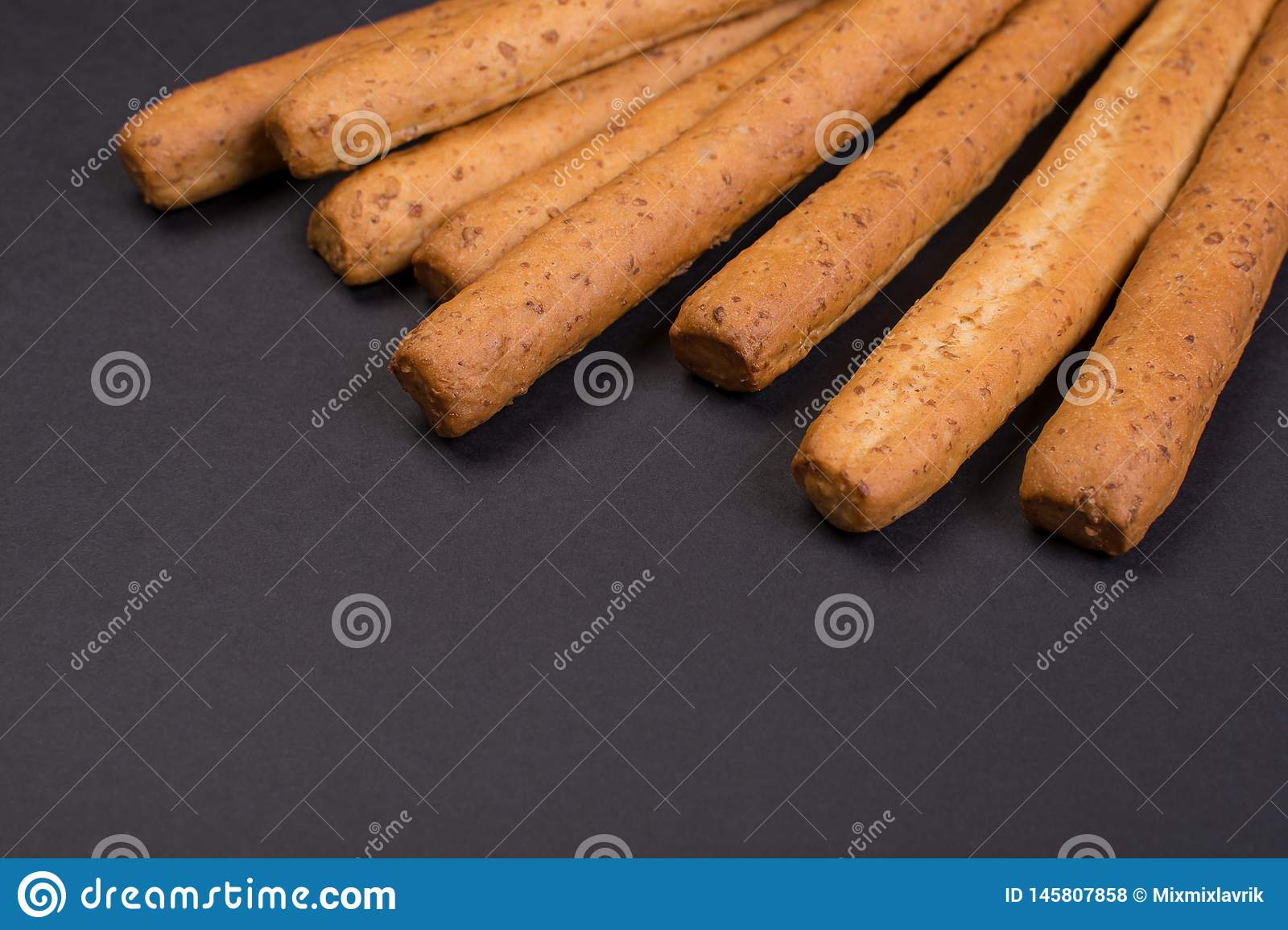 Crispy bread sticks
