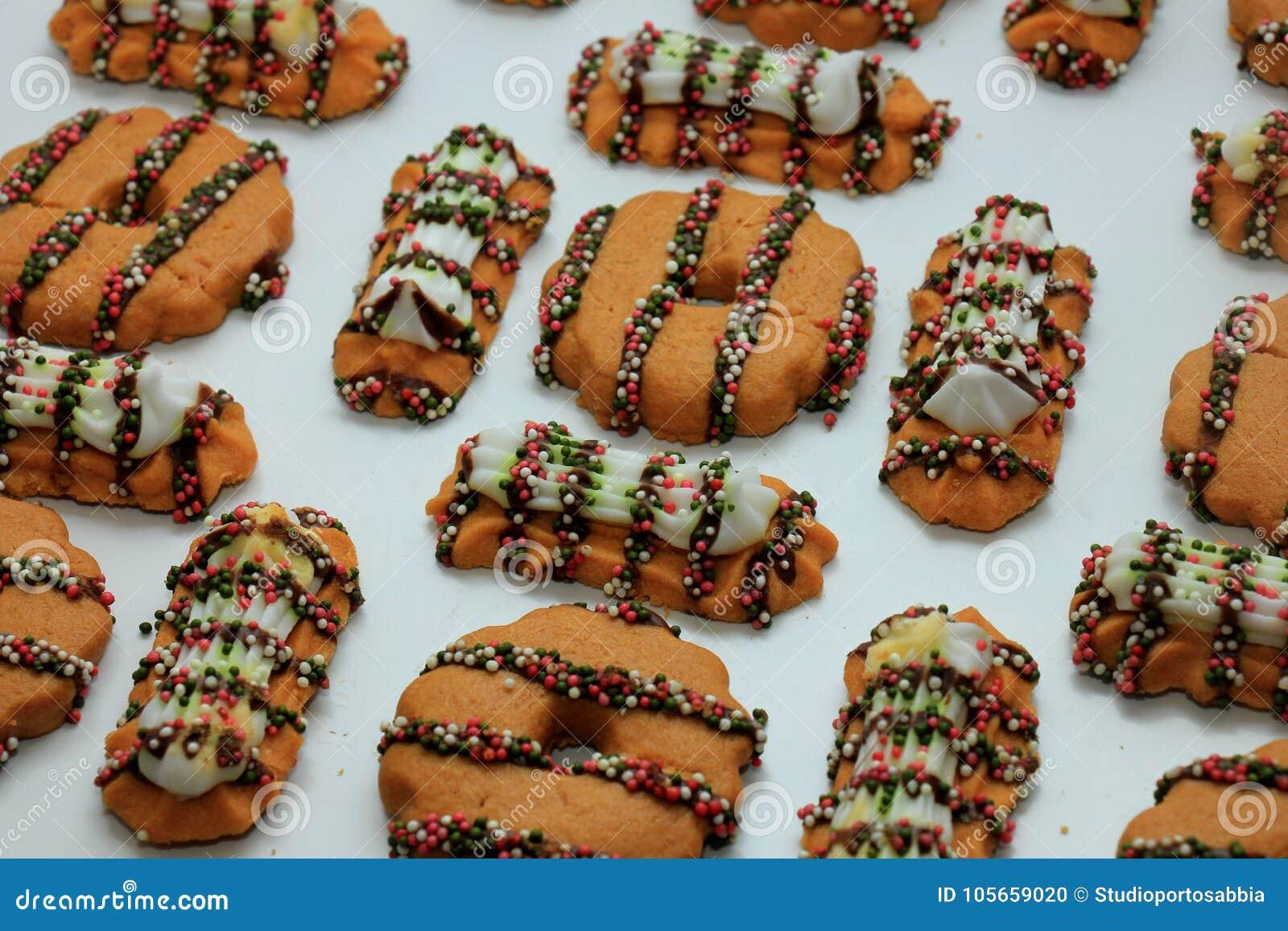 Crispy Christmas Cookies Stock Photo Image Of Traditional 105659020