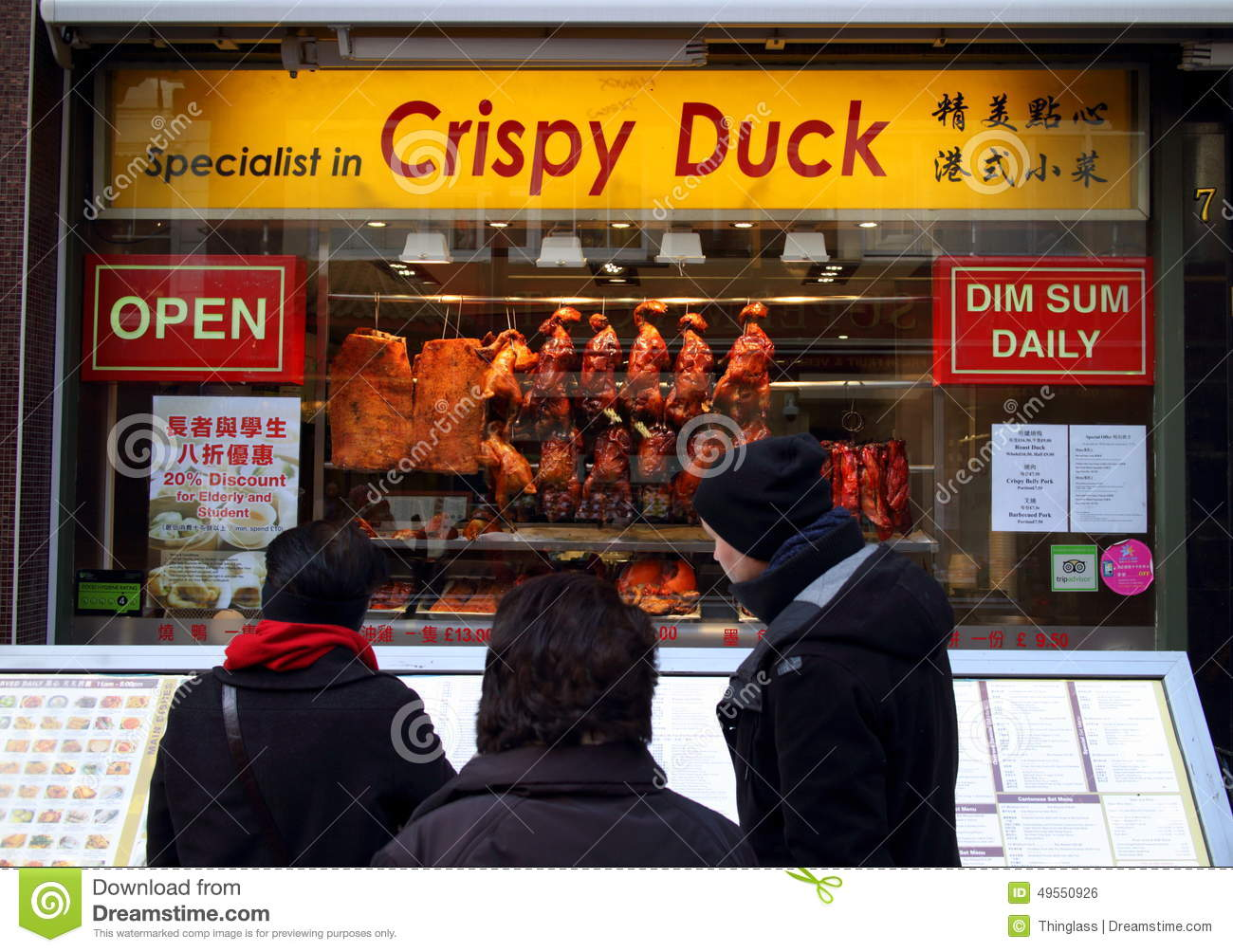 Fast Food Chinatown London