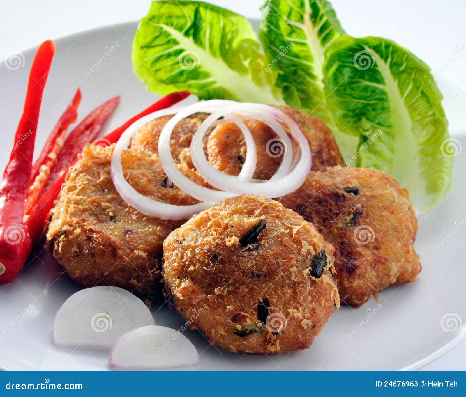 Crispy fried fish thai style