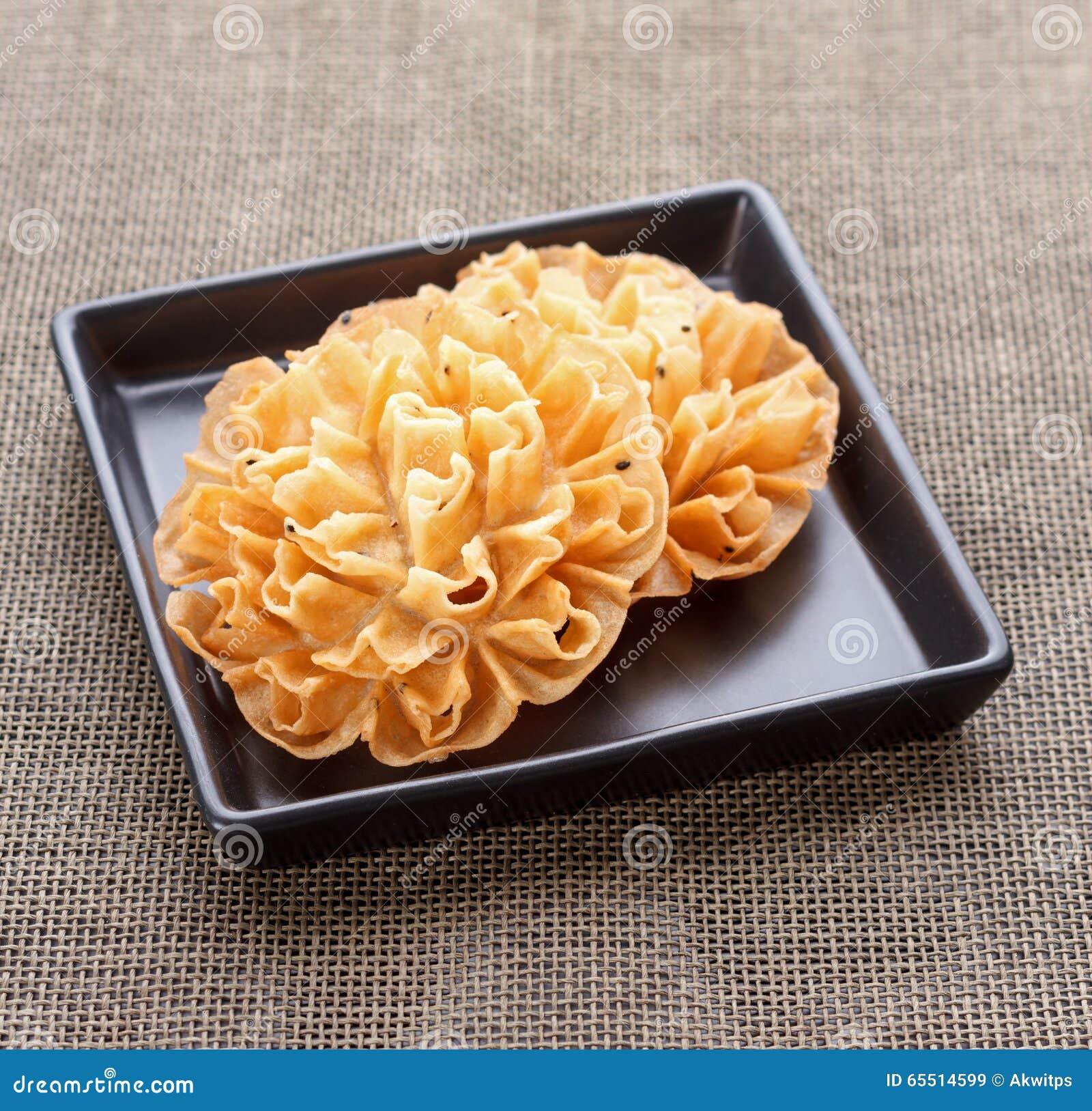 Crispy lotus blossom cookie thai dessert stock image image of download crispy lotus blossom cookie thai dessert stock image image of lotus nature izmirmasajfo
