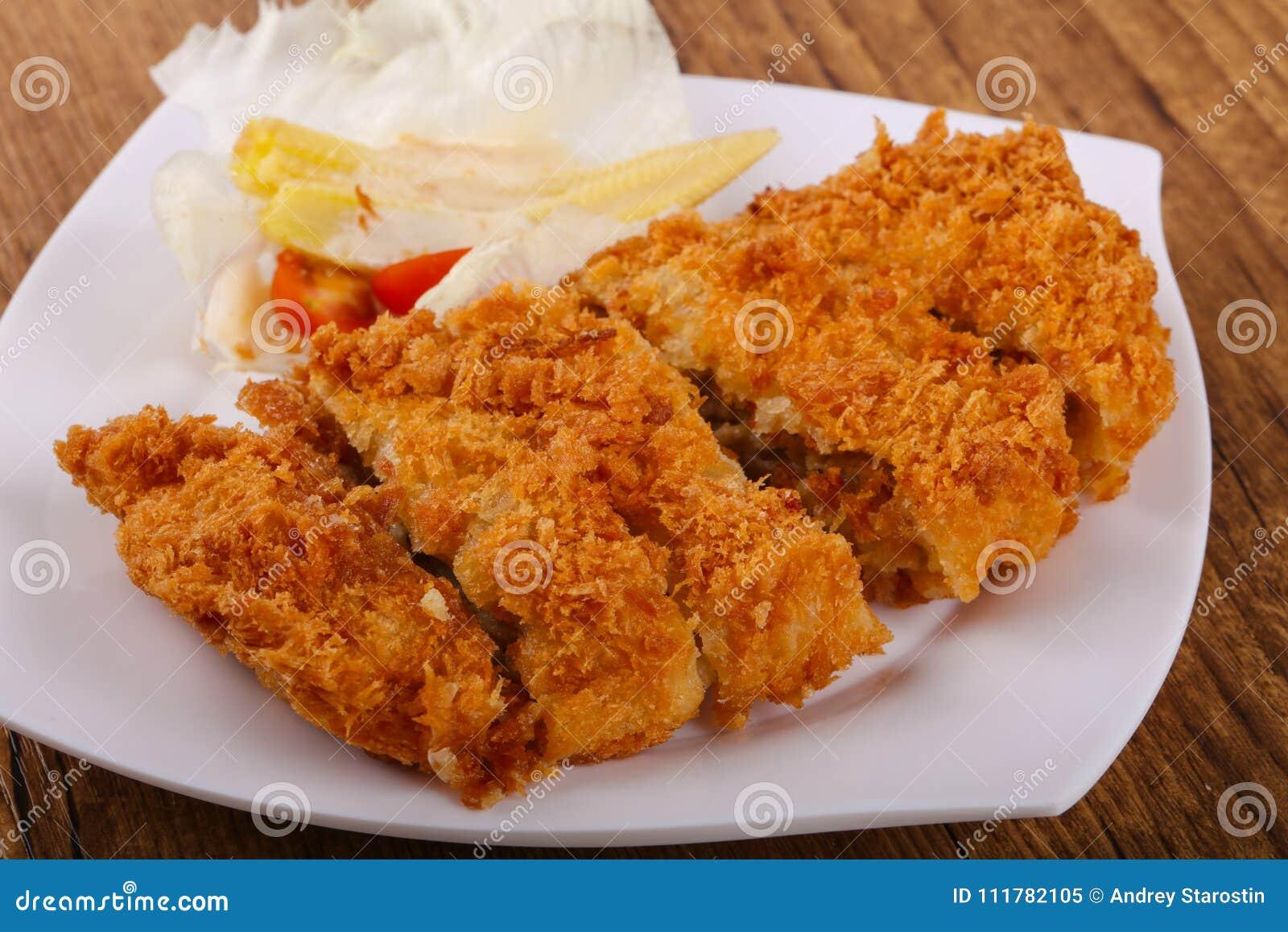 Crispy Pork with cheese
