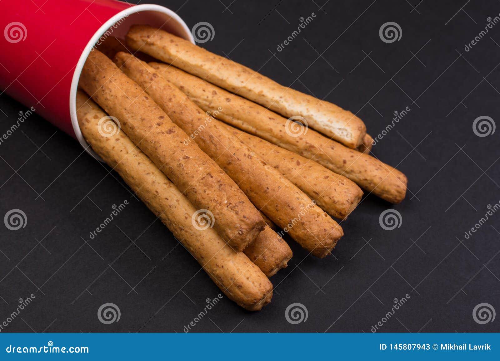 Crispy sticks f?r br?d