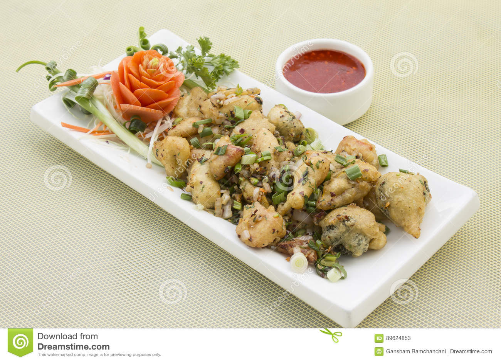 Crispy veg chłodny pieprz