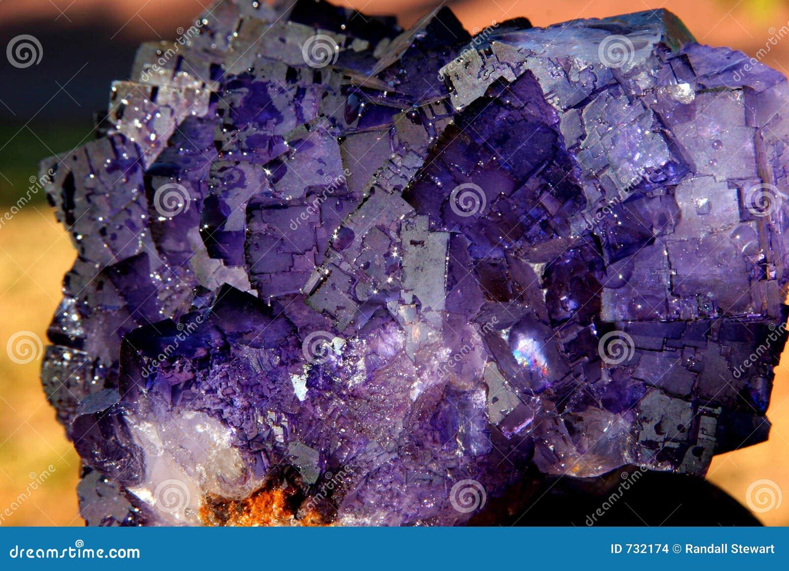 Cristal de la fluorina
