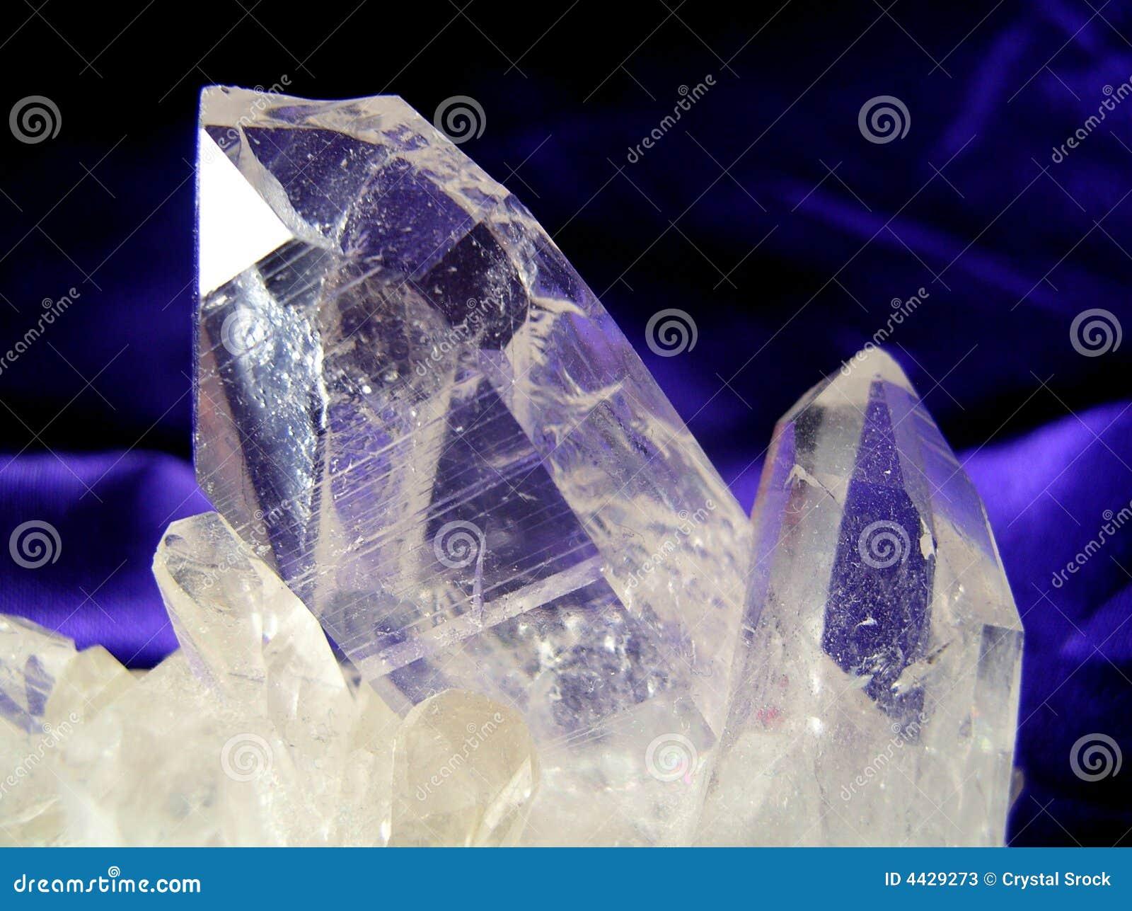 cristal de quartzo fotos de stock imagem 4429273