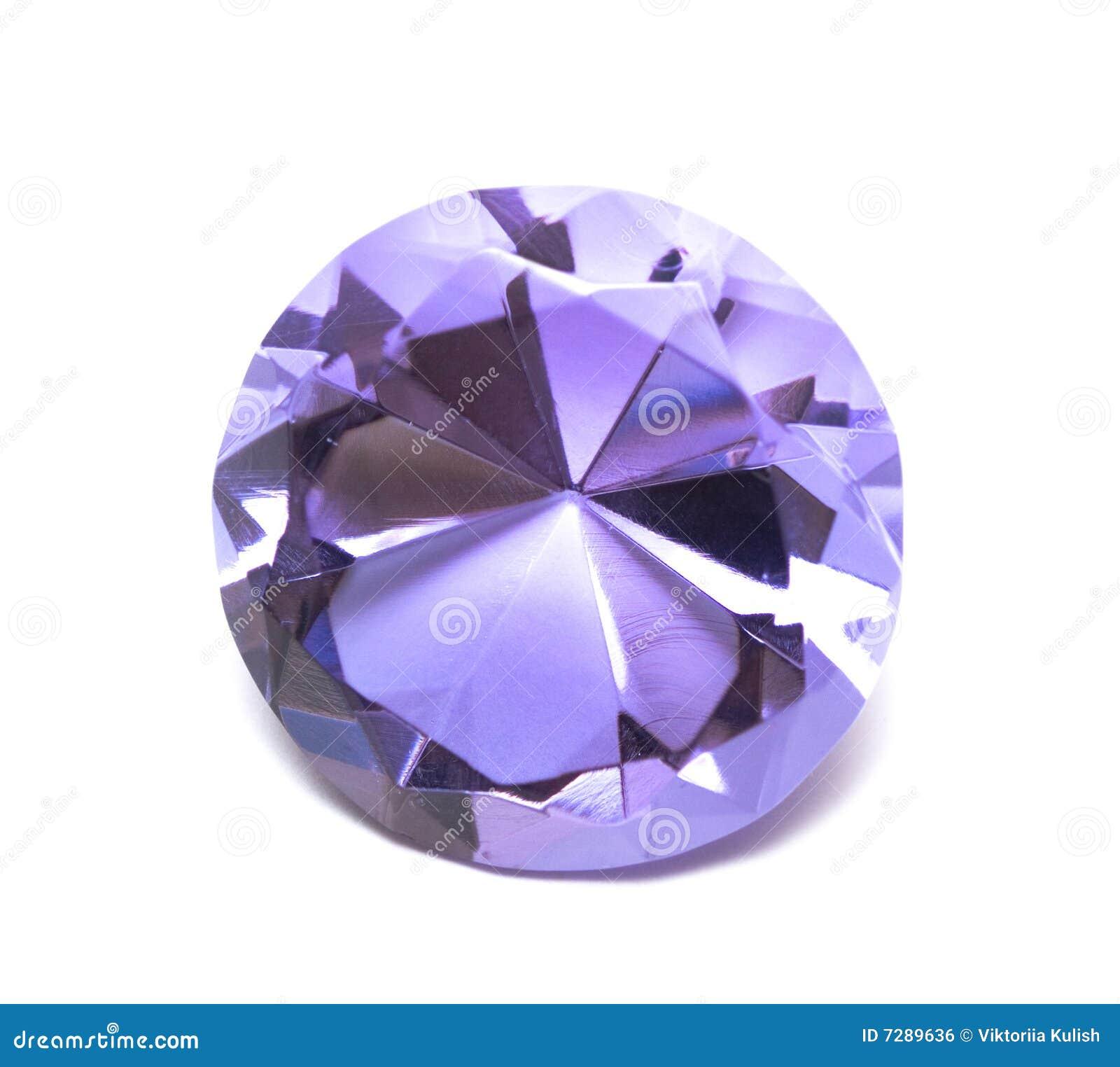 Cristal hermoso del diamante