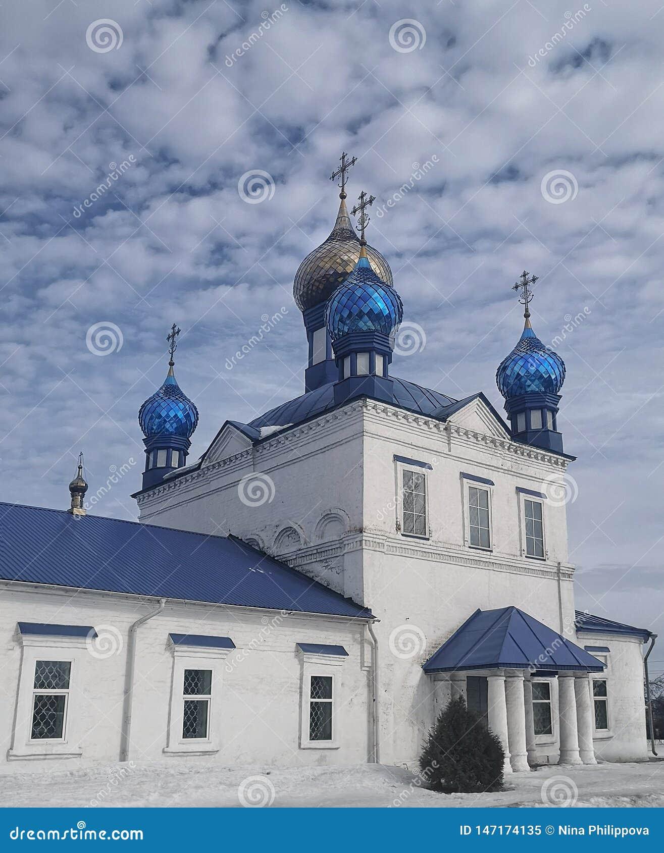 Cristian Church werd gebouwd in 1708, Rusland