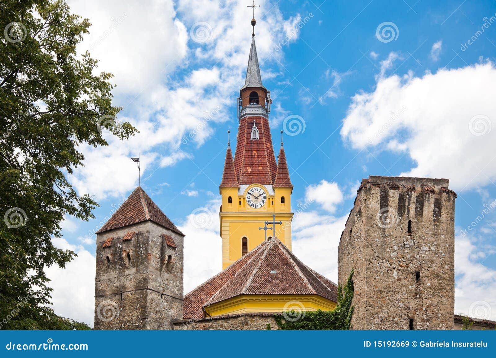 Cristian ha fortificato la chiesa