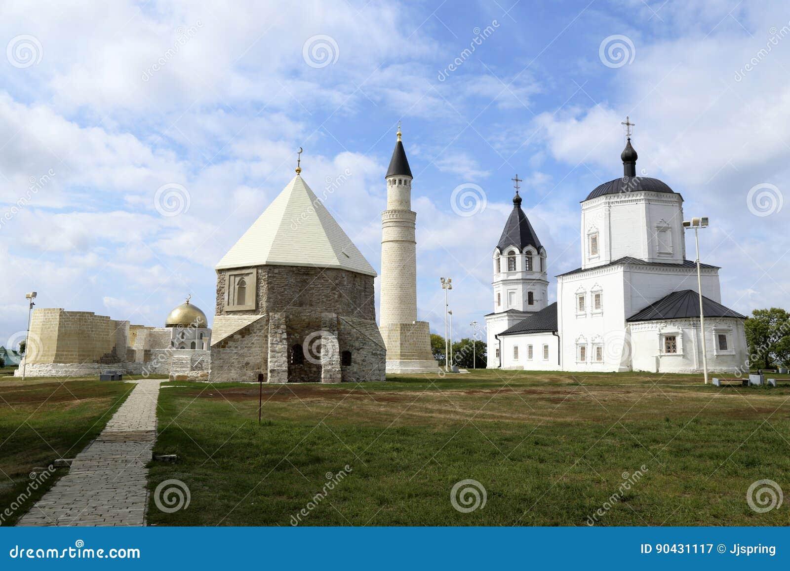 Cristianismo e Islam en la ciudad antigua de Bolgar, Rusia