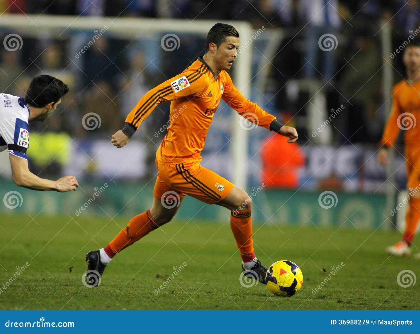 Cristiano Ronaldo del Real Madrid