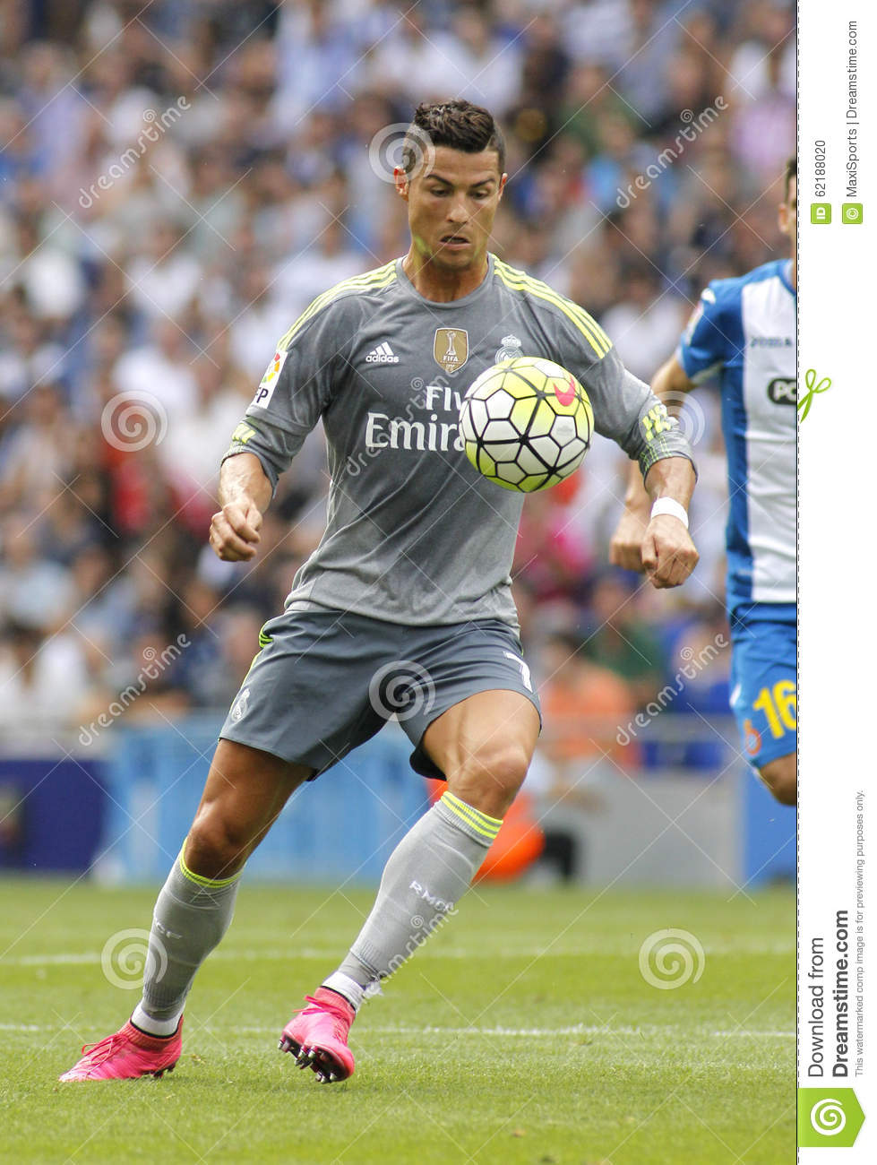 6734e2893 Cristiano Ronaldo of Real Madrid during a Spanish League match against RCD Espanyol  at the Power8 stadium on September 12 2015 in Barcelona Spain