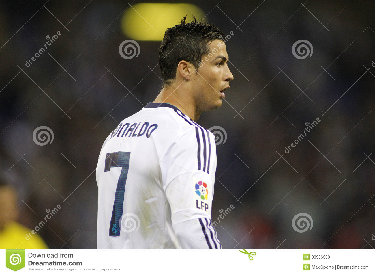 964ca546d Cristiano Ronaldo of Real Madrid during the Spanish League match between  Espanyol and Real Madrid at the Estadi Cornella on May 11