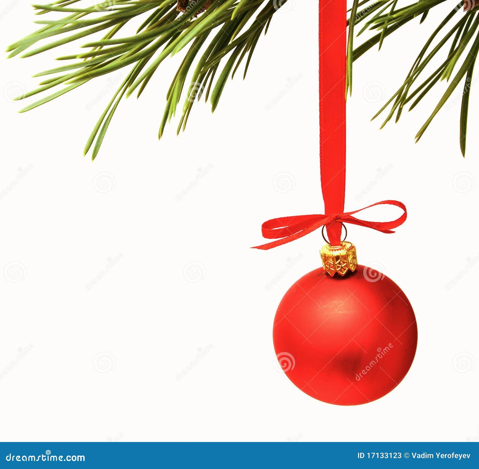 Cristmas decoration red balls