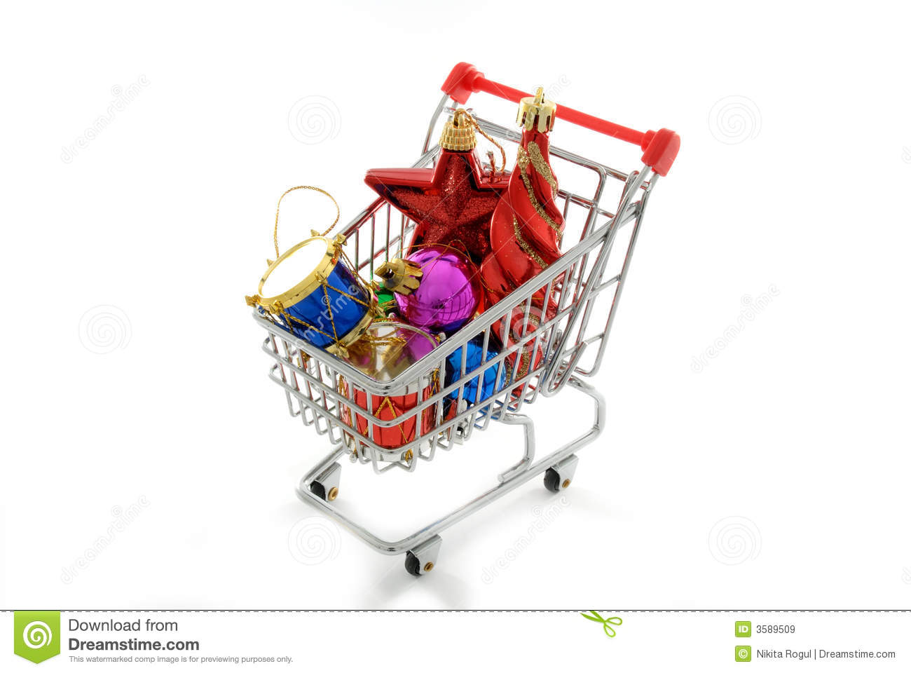 Cristmas ornaments shopping royalty free stock images for Christmas decorations online shopping