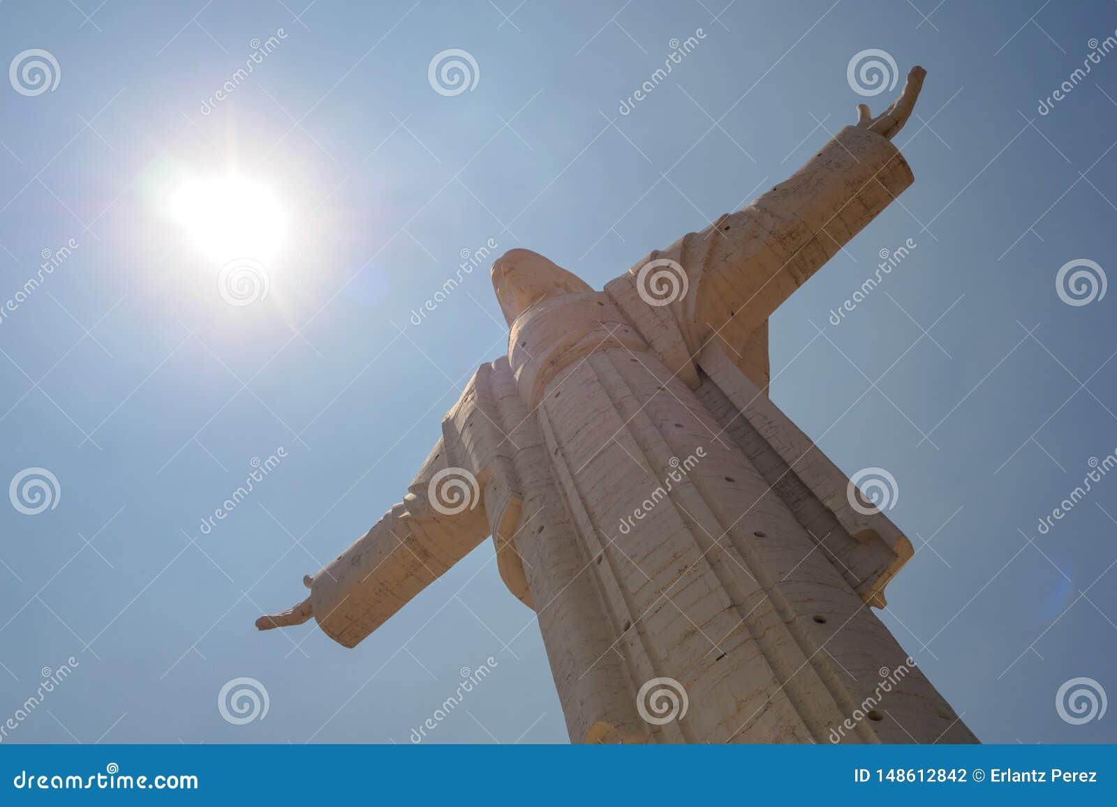 Cristo de la Concordia sur la colline de San Pedro dans la ville de Cochabamba