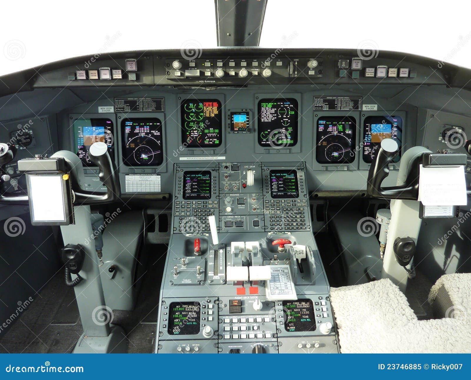 Crj 900 Cockpit Royalty Free Stock Photo Image 23746885