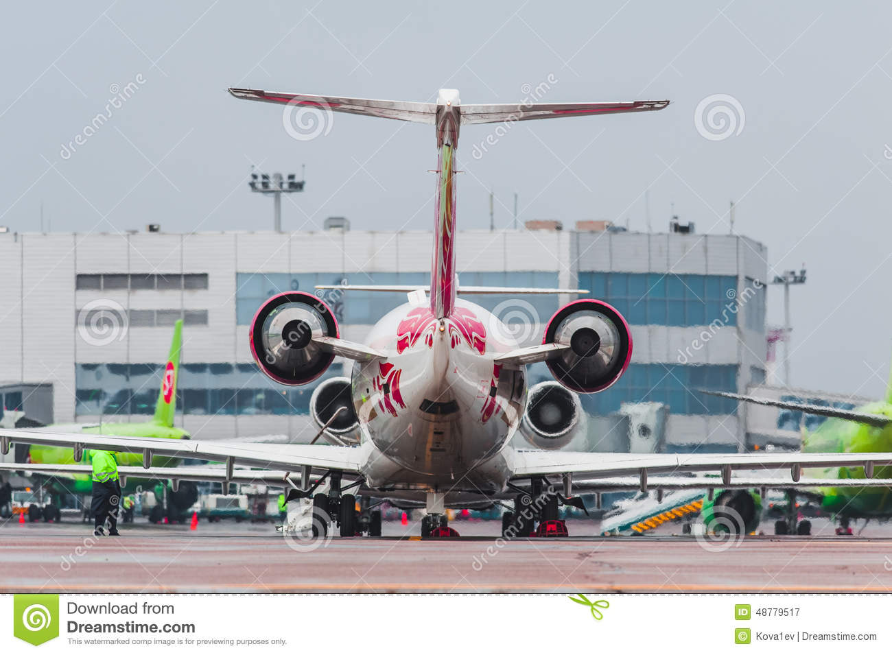 Where in Domodedovo there is cheap parking 96