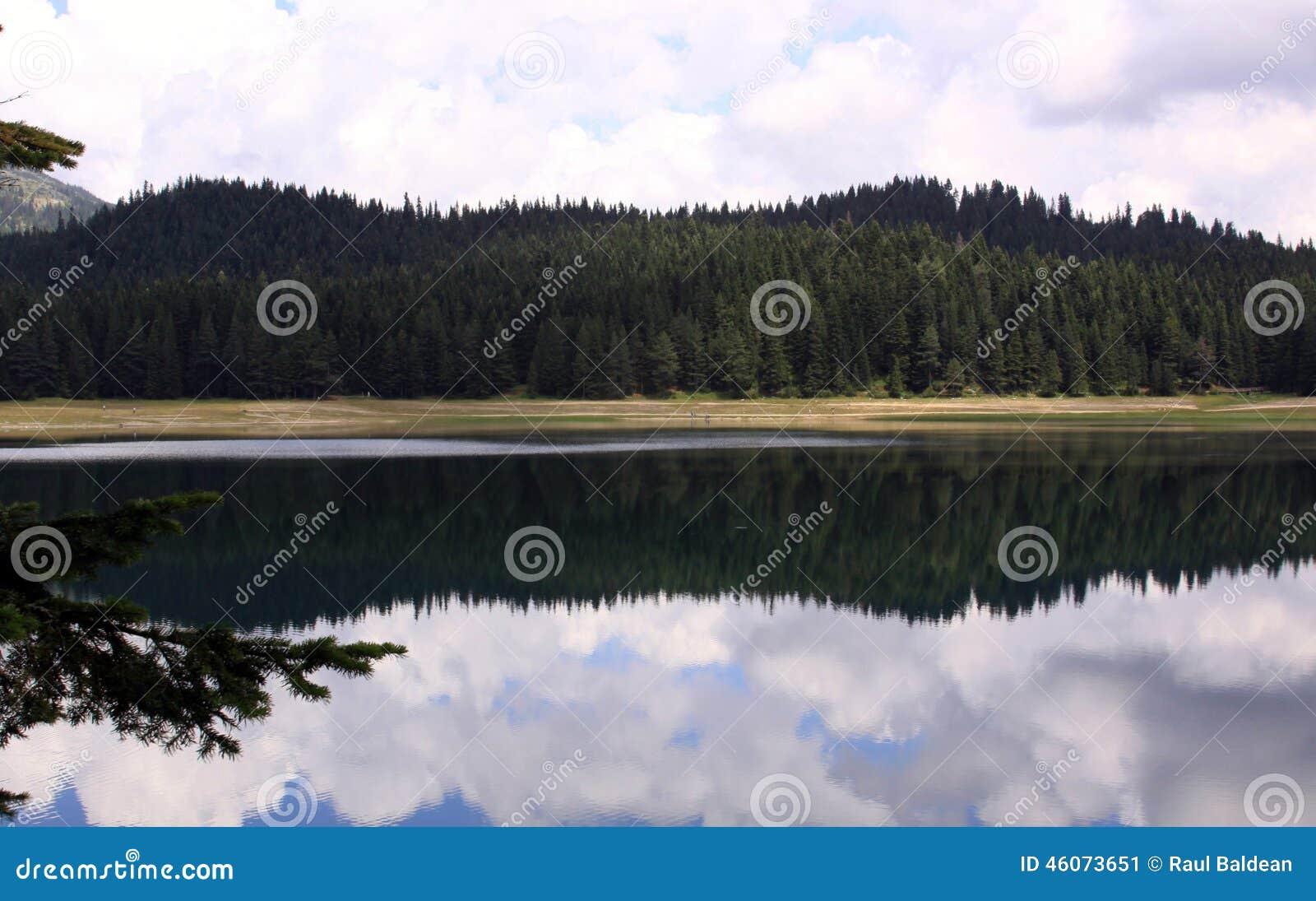 Crno Jezero, Durmitor park narodowy, Montenegro 01 (Czarny jezioro)