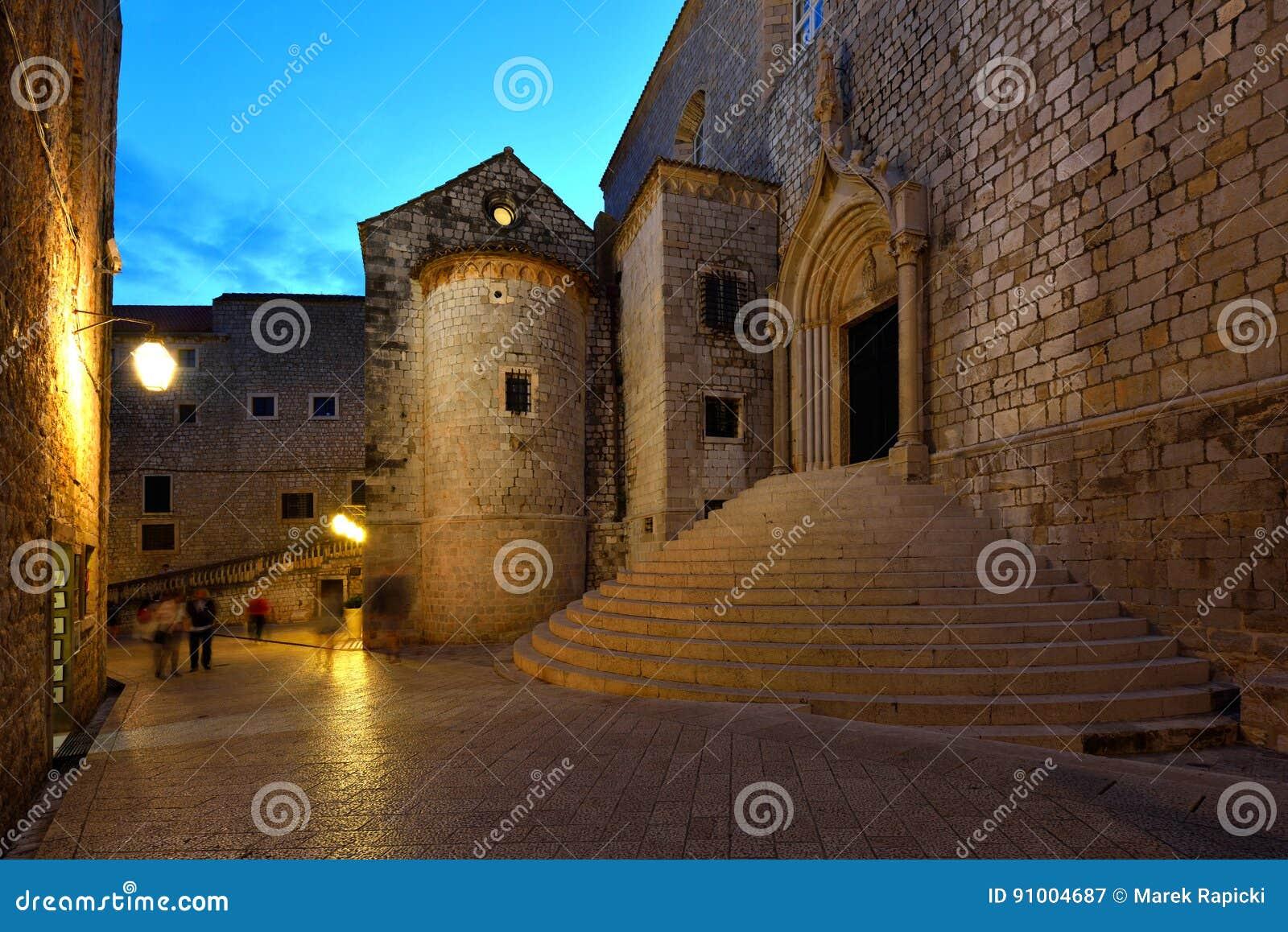 Croacia, Dubrovnik, alrededores de la puerta de Ploce