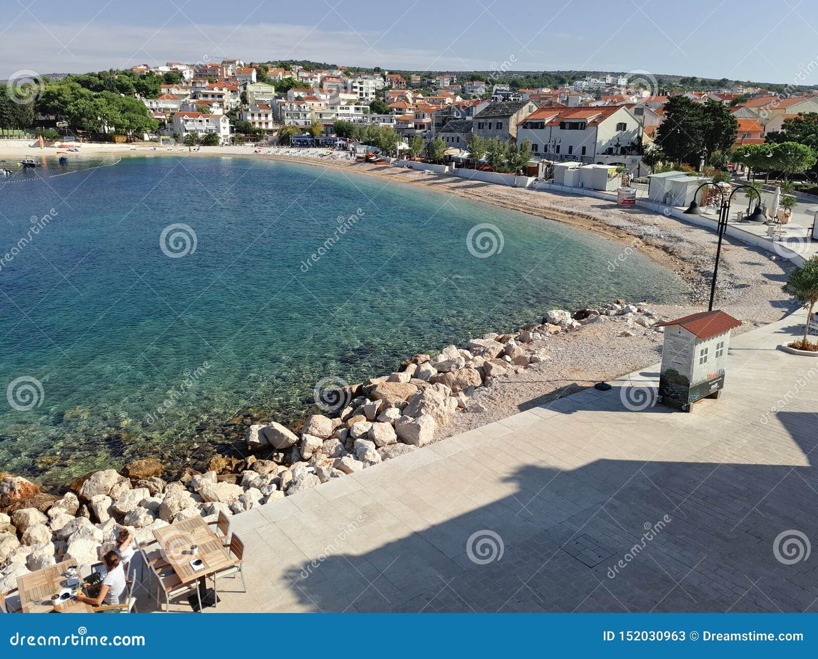 Croacia, uno pequeño y cada ciudad vieja