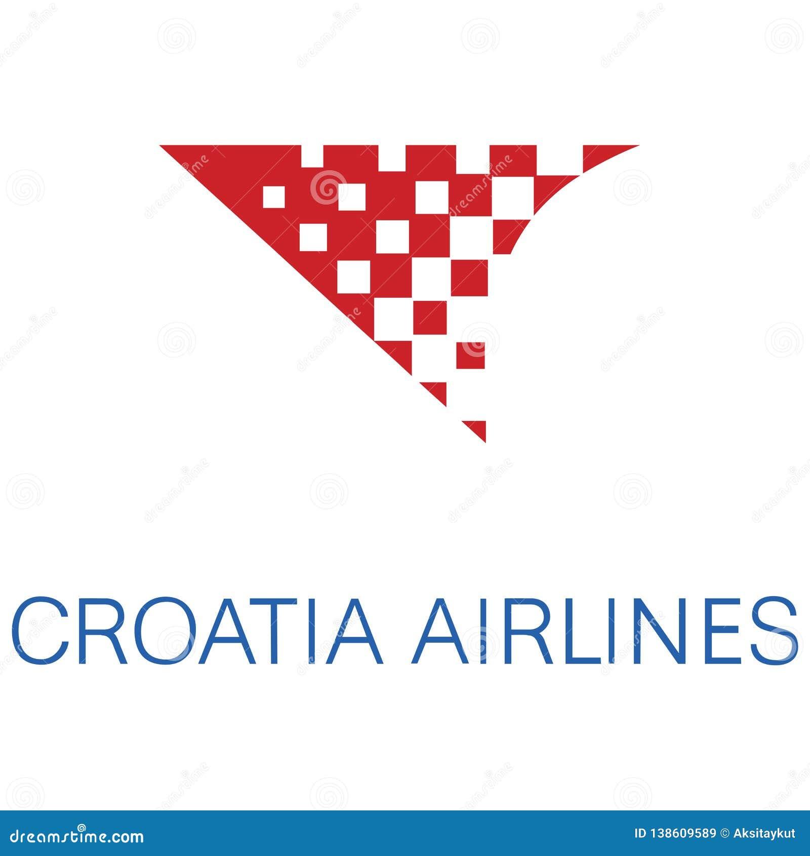 Croatia Airlines logo ikona