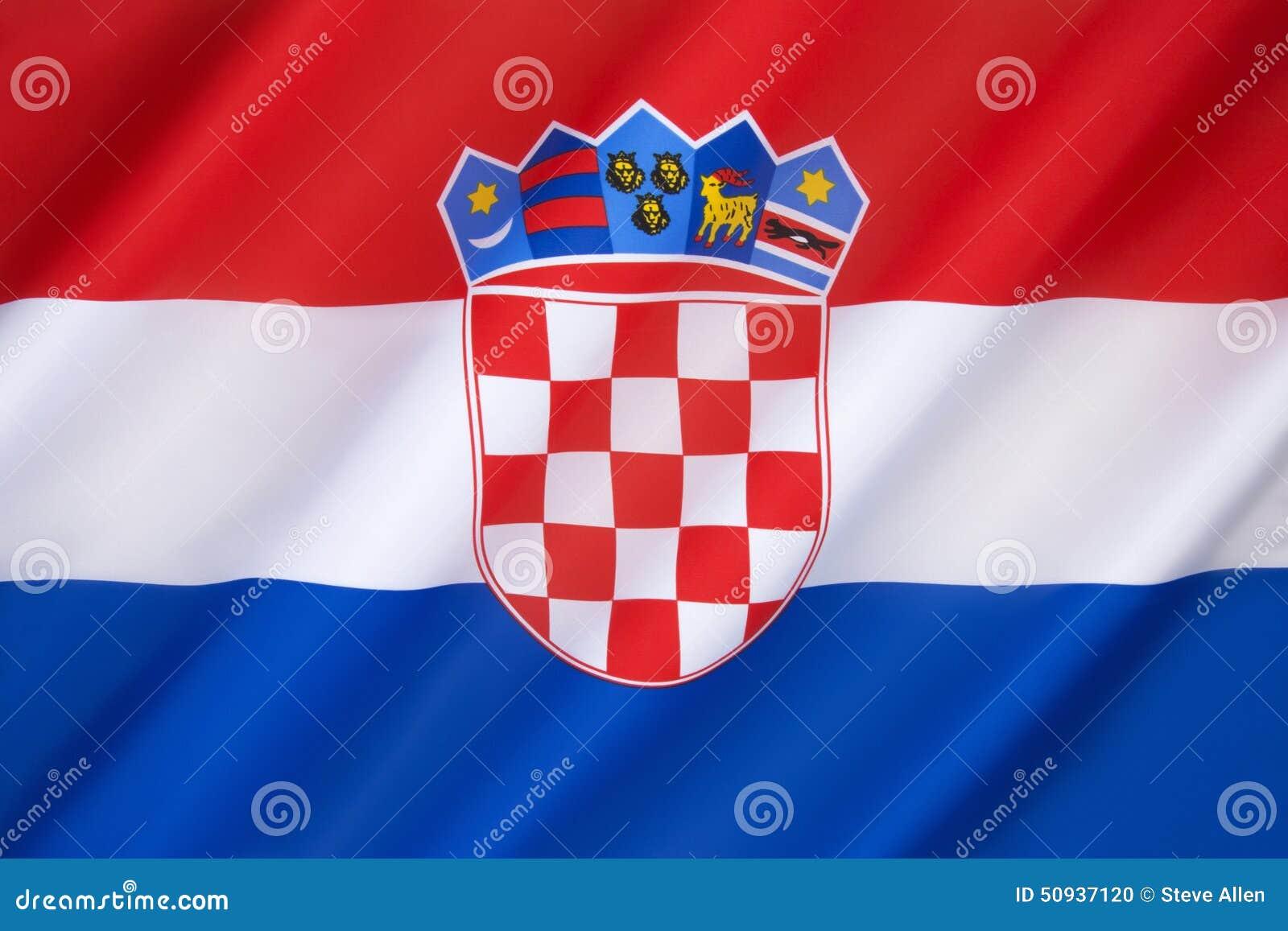 Croatia flagga