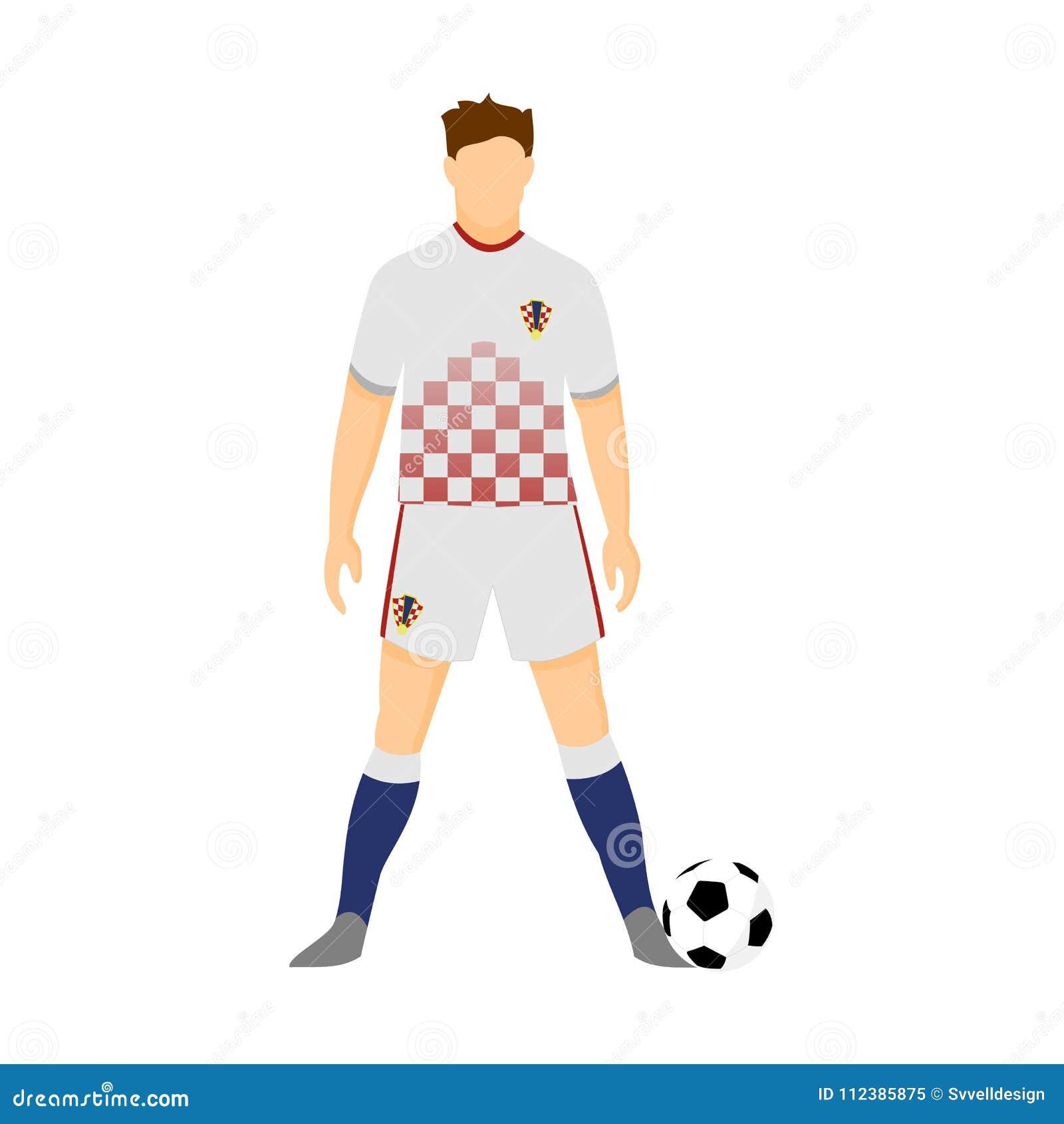 Croatia Football Jersey National Team World Cup Vector Illustration Graphic  Design 050032b18