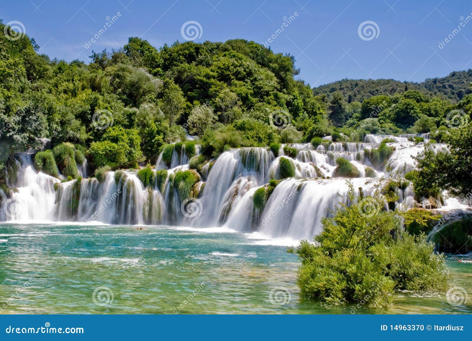 Croatia krka park narodowy siklawa
