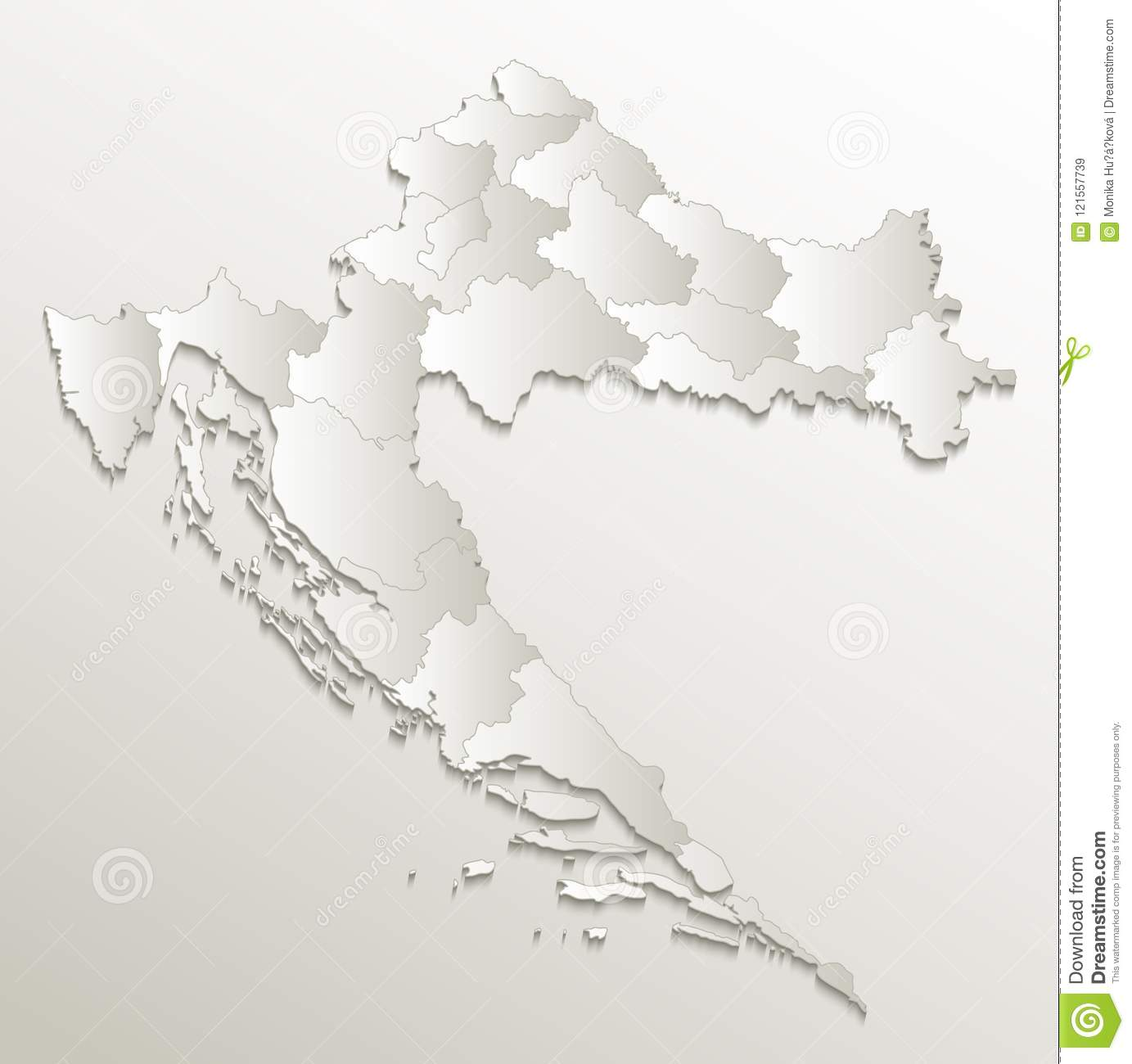 Croatia Map Separate Region Individual Blank Card Paper 3D Natural on blank map of australia, blank continent map worksheet, blank map of north america, blank map of byzantine empire, blank map mountains, blank map of oceans, blank map of rivers, blank map of peru, blank map of new york city, blank map of prime meridian, blank map of ancient rome, blank map of asia, blank continent map to label, blank map of europe, blank central and south america map, blank map of pakistan, blank map of united states, blank map of uk, blank map of california, blank map of egypt,