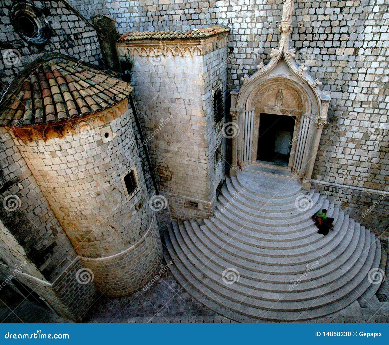 Croatian Church Steps