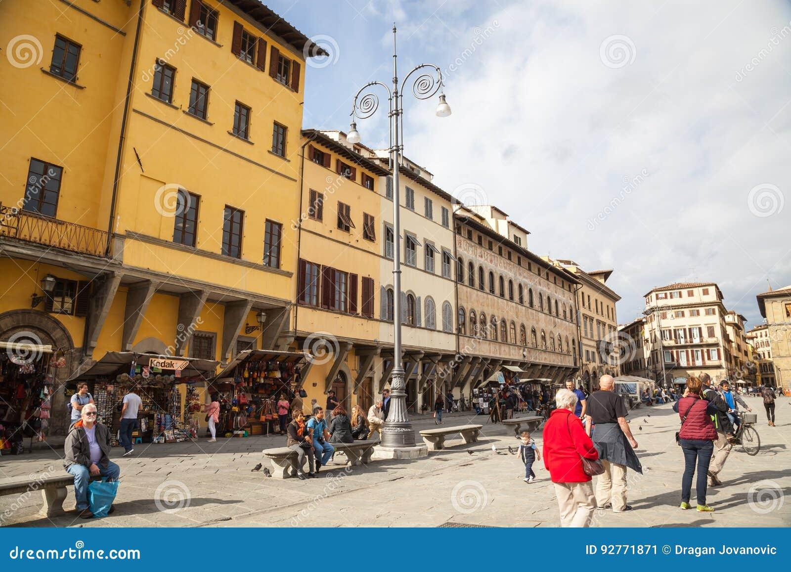 Croce二佛罗伦萨广场圣诞老人