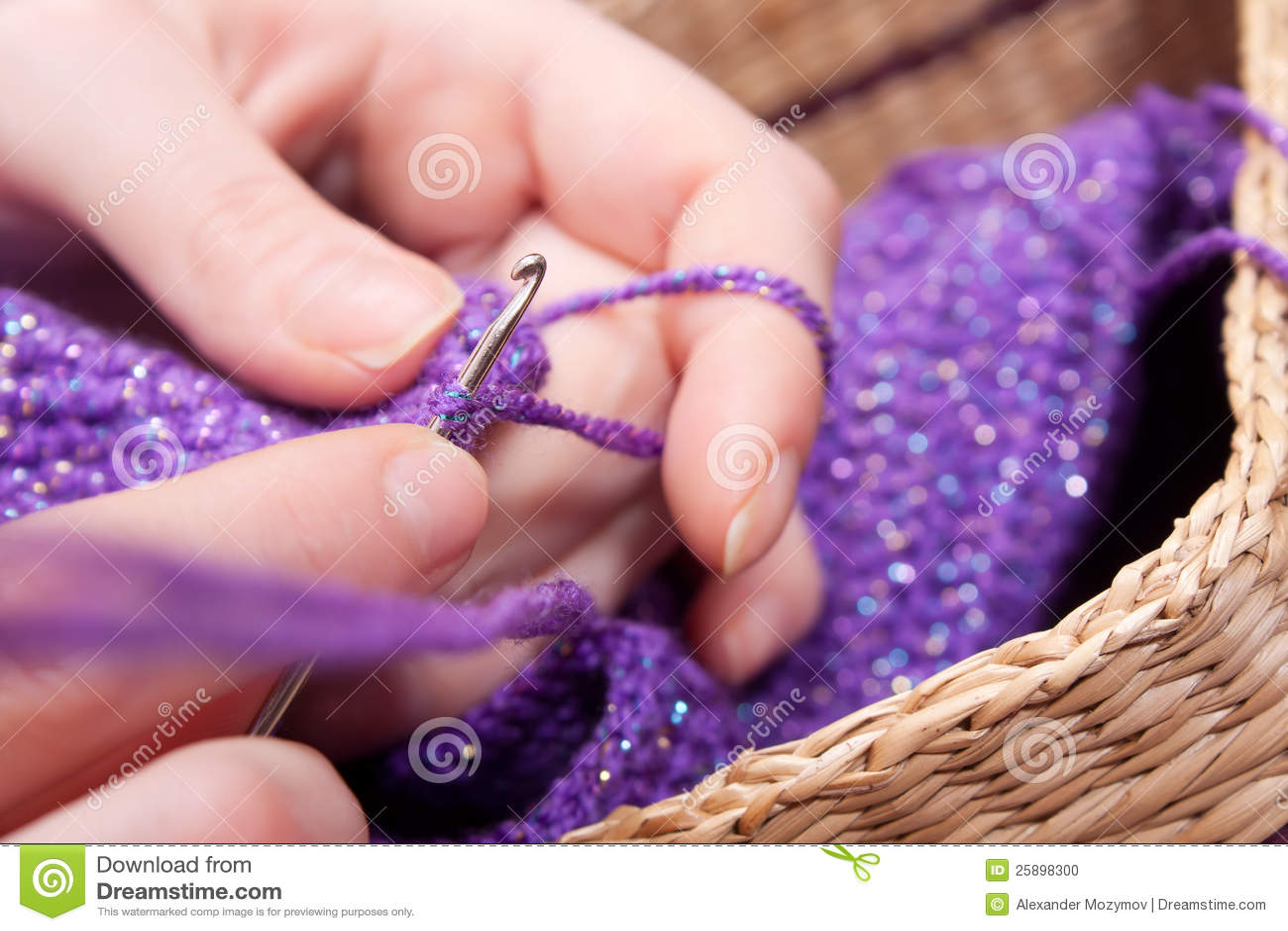 Crochet stock photography cartoondealer.com #25898300.