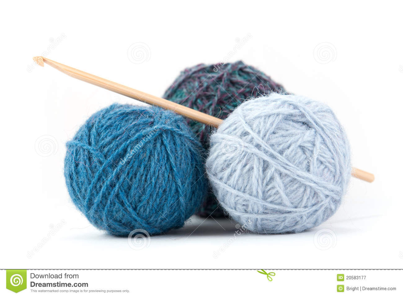 Crocheting Accessories : Crochet Accessories Royalty Free Stock Photography - Image: 20583177
