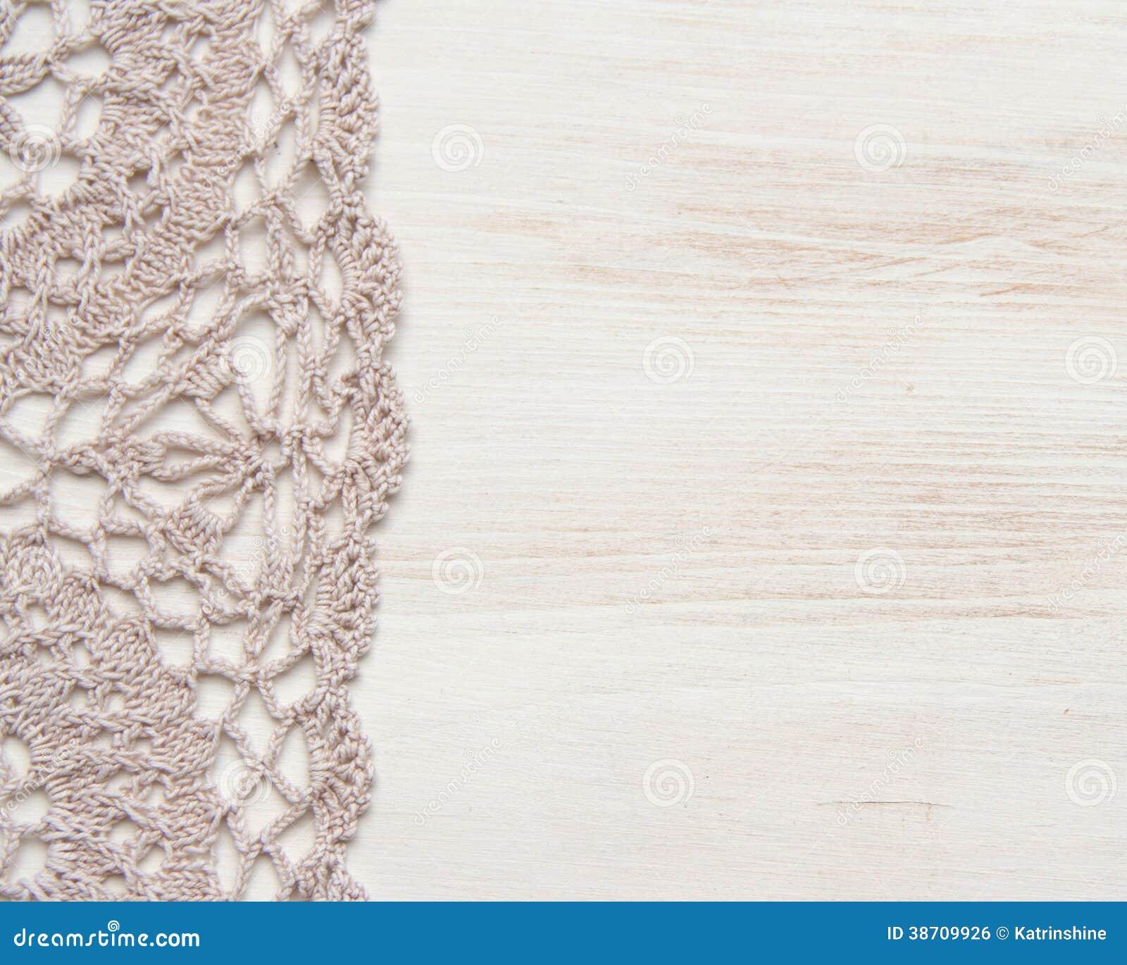 Crochet Doily Border Stock Photo Image Of Background
