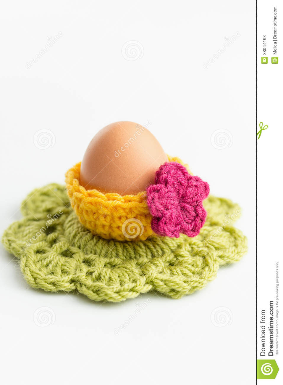 Crochet Easter Decorations Stock Photos Image 38044193